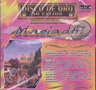 Mariachi Disco De Oro 36 Exitos (3 Cd)