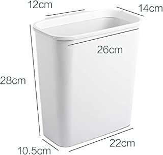 Environmentally-friendly Trash Can Kitchen Hanging Storage Box for Kitchen, Living Room, Bathroom (Color : B, Size : L)