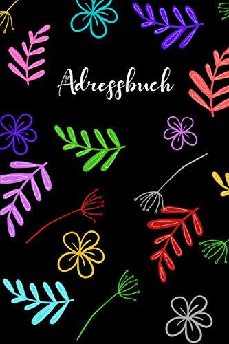Adressbuch: adressbuch mini mit register a-z.Telefonbuch zum Eintragen mit Platz Für 400+...