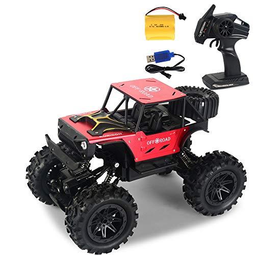 AIOJY Mit Auto-Lichter-Legierung 14.01 Allradantrieb Drahtlose Fernbedienung High-Speed-Drift Off-Road Elektro-Spielzeug-Auto-Kinderelektrofahrzeug-Spielzeug-Modell, Kinder Geburtstags-Geschenke
