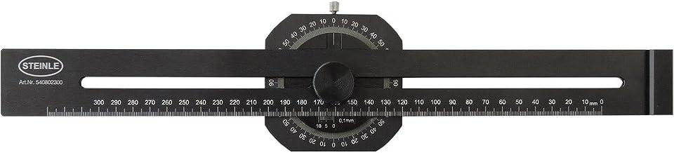 STEINLE 5408 ALU Streichmaß 300 mm mit integriertem Gradmesser