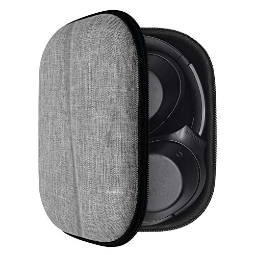 Custodia per Sony WH-XB900N, WH-1000XM3, Bose QuietComfort 35/QC35, Sennheiser PXC 550, Case rigida in EVA Cover protettiva (Gray)