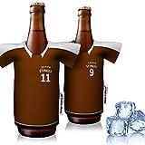 vereins-Trikot-kühler Home für FC St. Pauli Fans | 2er Fan-Edition| 2X Trikots | Fußball Fanartikel Jersey Bierkühler by Ligakakao