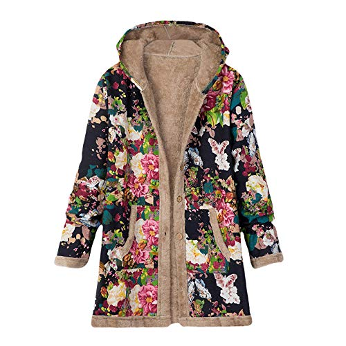 Kobay-Damen Herbst Winter Freizeit Warm Bequem Mode Hals Kapuze Daunen Warmer Mantel Daunenjacke Windbreaker Mantel