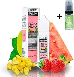E Liquid Pachamama Pachamama Strawberry Guava Jackfruit 50ml - 70vg 30pg - booster shortfill + E