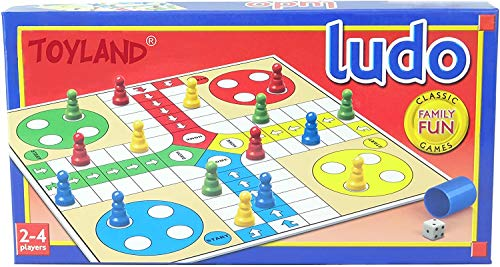 Toyland M.Y Traditional Games - Ludo - Classic Family Fun Games