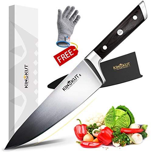 KingKut Chef Knife, 8-inch Kitchen...
