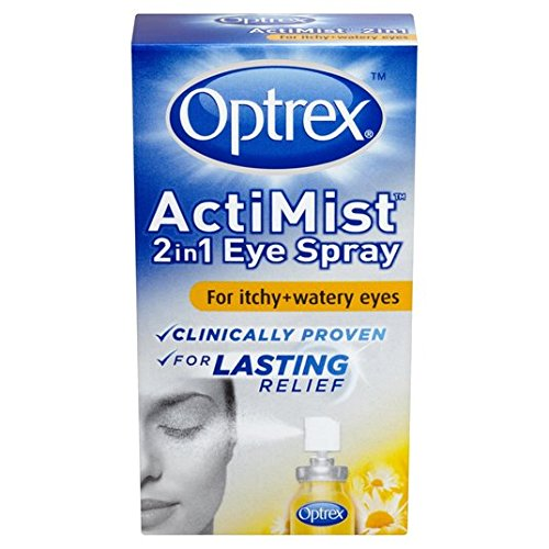 Optrex - Colirio en spray Actimist para ojos irritados y llorosos, 10 ml