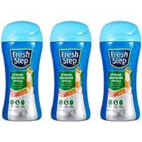 3-Pack Fresh Step Cat Litter Crystals Cat Litter Box Deodorizer