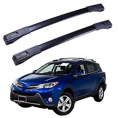 INEEDUP Cross Bars Roof Rack Fit For 2013-2018 for Toyota RAV4 OE Style Bolt-On Roof Rack Rail Cross Bar Luggage Cargo Carrier,2-Pack