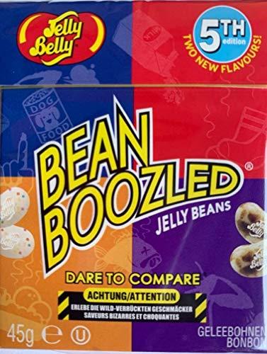 Bean Boozled de quinta generación de Jelly Belly Beans en caja Flip Top de 45 g.