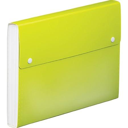 キングジム ドキュメントファイル TOFFY A4 2273TF 黄緑
