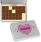 DU BIST DIE ? MEINES LEBENS - Schokoladenbotschaft   Ich liebe dich Schokolade   Valentinstag   Liebesgeschenk   Liebesgeschenke   Frauen   Männer   Frau   Mann   Freund   Freundin
