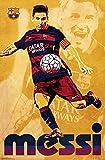 FC Barcelona - Lionel Messi 15 Poster Drucken (55,88 x