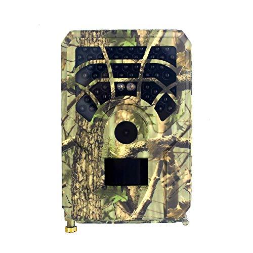 HWELZ Mini HD Wildkamera, Hunting Camera Fotofalle 120° Weitwinkel Vision Infrarote Nachtsicht Überwachungskamera Hunting Camera mit LCD Display