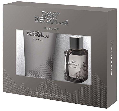 David Beckham Beyond Set (EDT 40 ml, Hair und Body Wash 200 ml), 1er Pack (1 Set)