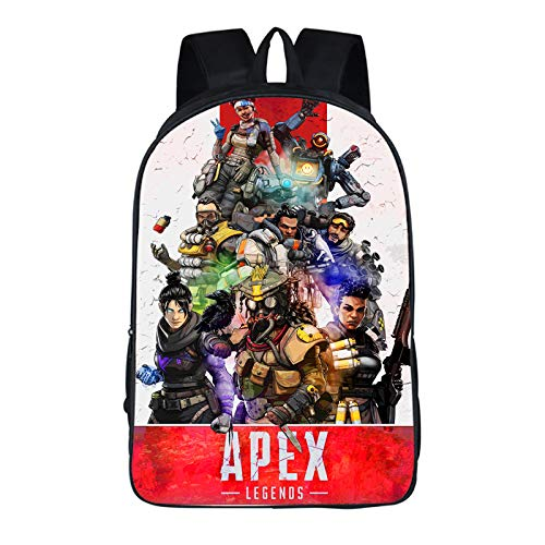 Ewings New 3D Print Apex Legends Game Boys and Girls Backpack Creative Polyester Comfortable School Bags (38)
