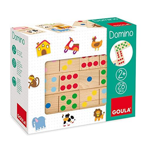 Goula- Dominó topycolor - Juego preescolar educativo a partir de 2 años