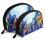 Bolsa de maquillaje ligera Sailor Moon profesional, bolsa de viaje, bolsa de aseo de belleza, bolsa organizadora para mujer