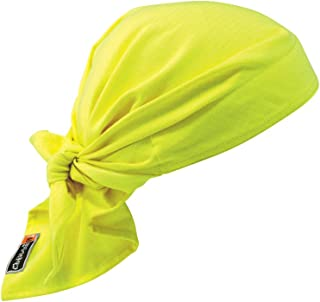 Cooling Dew Rag, Fire Resistant, Evaporative Polymer Crystals for Cooling Relief, Ergodyne Chill Its 6710FR
