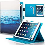 Dteck Universal Case for 6.5-7.5 inch Tablet, PU Leather