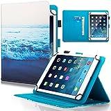 Étui universel Dteck (TM) pour Samsung Galaxy, tablette, iPad, Amazon Kindle, Google...