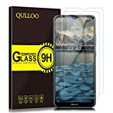 QULLOO Panzerglas für Nokia 2.4, 9H Hartglas Schutzfolie HD Displayschutzfolie Anti-Kratzen Panzerglasfolie Handy Glas Folie für Nokia 2.4