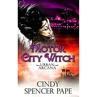 Motor City Witch audiobook cover art