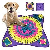YIMAKJ Alfombra para perros – Gran juguete de inteligencia para perros, juguete plegable para perros, promueve las habilidades naturales de búsqueda de alimentos para mascotas, perros y gatos