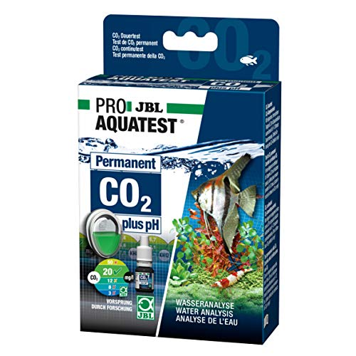 JBL Wassertest-Set, Für Süßwasser-Aquarien, ProAquaTest CO2-pH Permanent