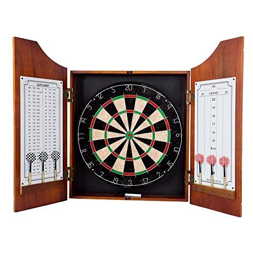 SF-houten dart kast – Pro Style Board en pijlen