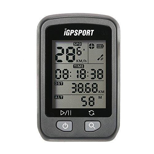 Lixada Computer GPS per Biciclette, Schermata Automatica Retroilluminazione, 25 ore di Lavoro, Contachilometri con Supporto, Ricaricabile, Impermeabile IPX6, Oltre 90 Memorie Dati