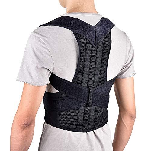 WCX Cinturón de Soporte Lumbar Corrector de Postura Cintura de Soporte Cinturón Aliviar...