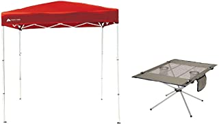 Ozark Trail 4' x 6' Instant Canopy Bundle with High-Tension Travel Table