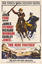 Two Rode Together Poster Movie 11x17 James Stewart Richard Widmark Shirley Jones Linda Cristal