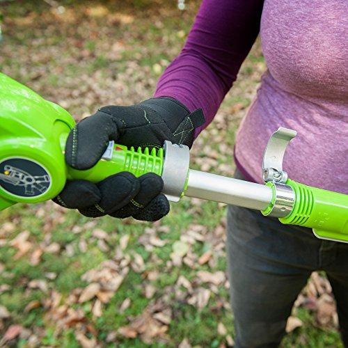 Greenworks 20-Inch 24V Cordless Pole Hedge Trimmer, 2.0 Battery Included 22242