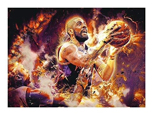 Puzzle NBA Baloncesto Estrella Ídolo Rompecabezas - Madera Adulto Creativo descompresión Dibujos Animados Juguetes educativos for niños (300/500/1000 Piezas)
