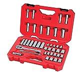 CRAFTSMAN Mechanics Tool Set, SAE / Metric, 3/8-Inch Drive, 40-Piece (CMMT12018)