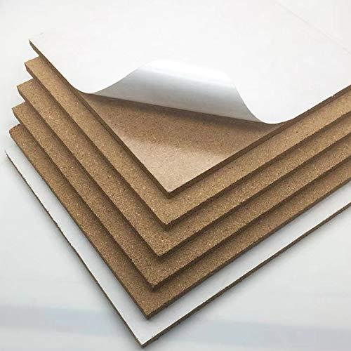 BEESCLOVER muur Decor Bulletin Memo Bericht Board Pin kurk tegels rechthoek met lijm terug voor kantoor/huis/keuken/slaapzaal Conveniet leven