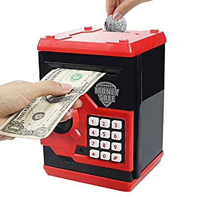 Cargooy Mini ATM Piggy Bank ATM Machine Best Gift for Kids