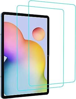 YGoal skärmskydd för Galaxy Tab S7 Plus, [2-pack] 9H hårdhet, anti-repor, inga bubblor och hög definition premium härdat g...
