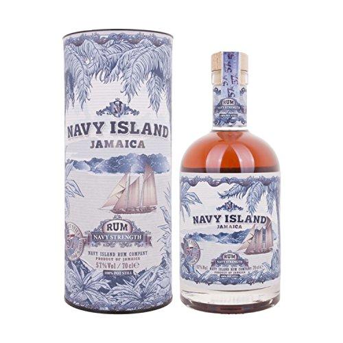 Navy Island JAMAICA Navy Strength Rum + GB 57,00% 0.7 l.