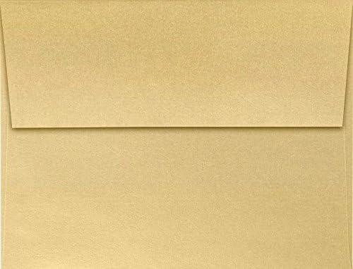 A2 Invitation Selling Envelopes 4 3 8 x - 50 Qt free Blonde Metallic 5