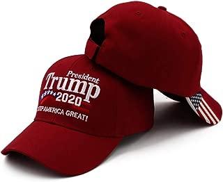Hot Donald Trump 2020 Keep Make America Great Again Cap Embroidered Hat Black