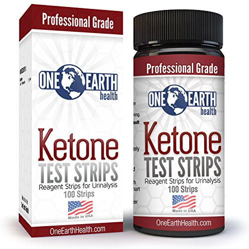 Ketone Strips 100 Count (USA Made): Accurate Results for Ketogenic Diet and Ketone Measurement. 1