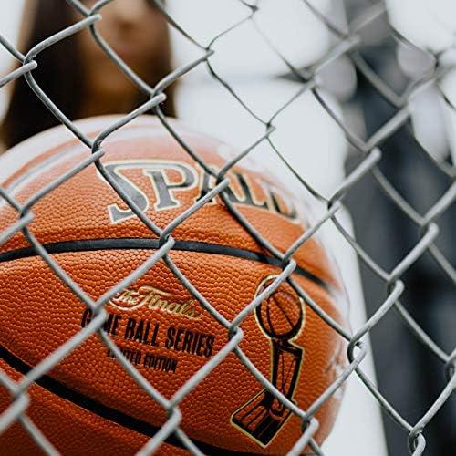 "Spalding NBA Replica Finals Edition, Orange, 29.5"""