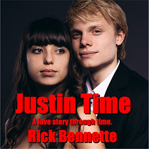 Justin Time audiobook cover art