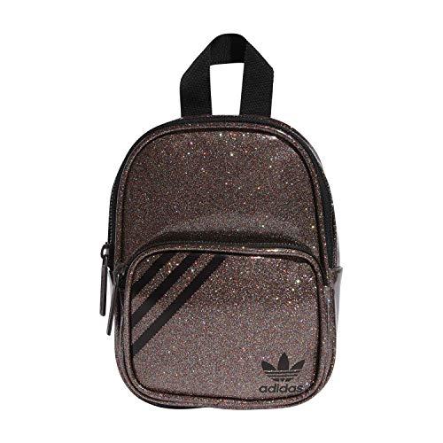 adidas Mini Backpack, Pink Glitter, One Size