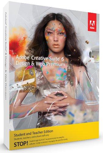 Adobe Creative Suite 6 Design & Web Premium Student and Teacher Edition, MAC, inglese