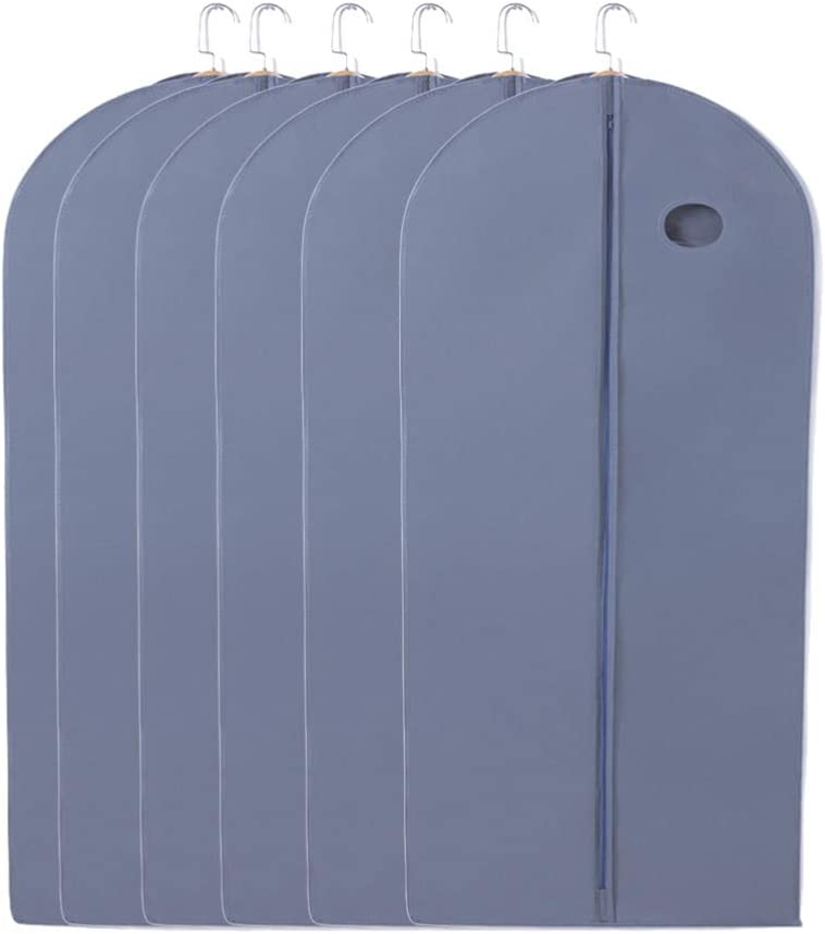Vosarea 6PCS Breathable Garment Bag Covers Clothes lowest price N Zipper Dust 4 years warranty